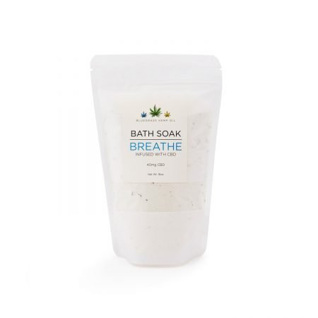 Bluegrass Hemp Oil Breathe Bath Soak