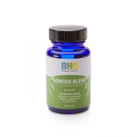 Bluegrass Hemp Oil Genesis Blend Softgels