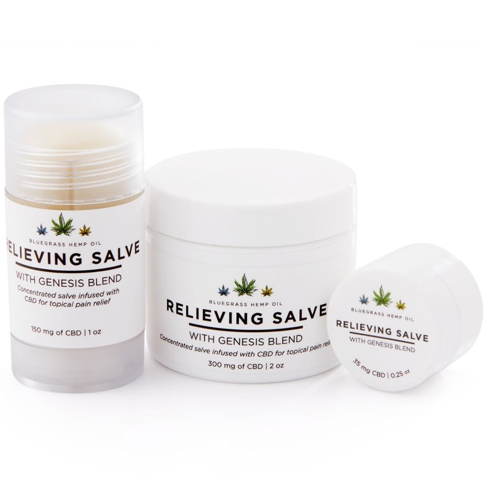 Bluegrass Hemp Oil Relieving Salve
